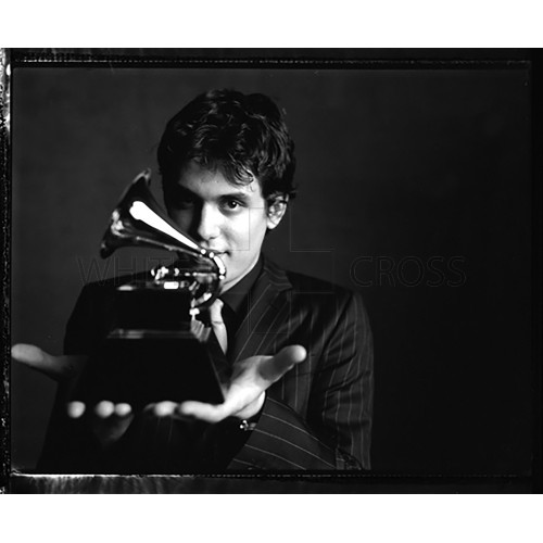 John Mayer and Grammy Close Up, a Photograph by Danny Clinch