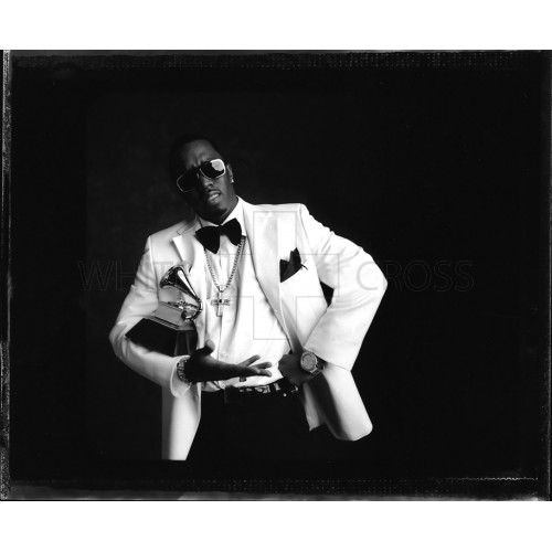 P Diddy in a White Jacket, Photographed by Danny Clinch
