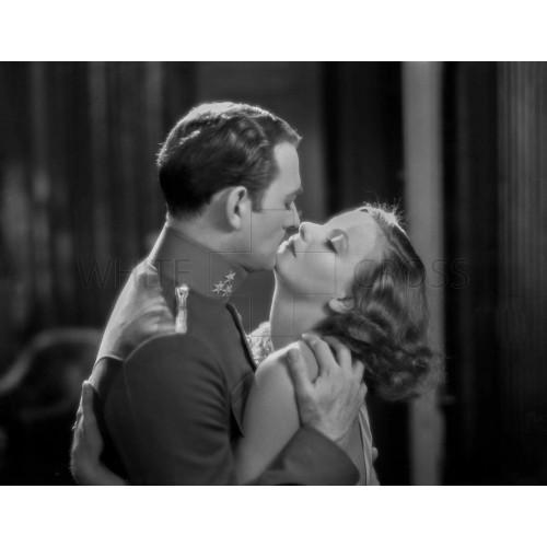 Greta Garbo and Conrad Nagel in
