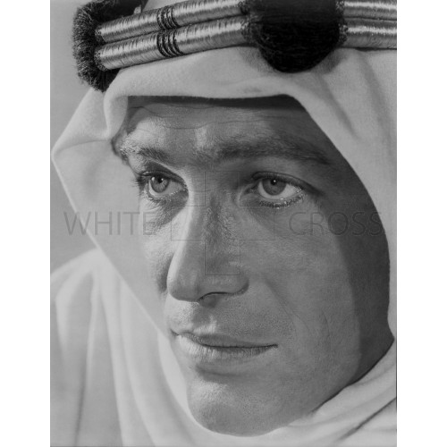Peter O'Toole Close up from Lawrence of Arabia, an Archival Print