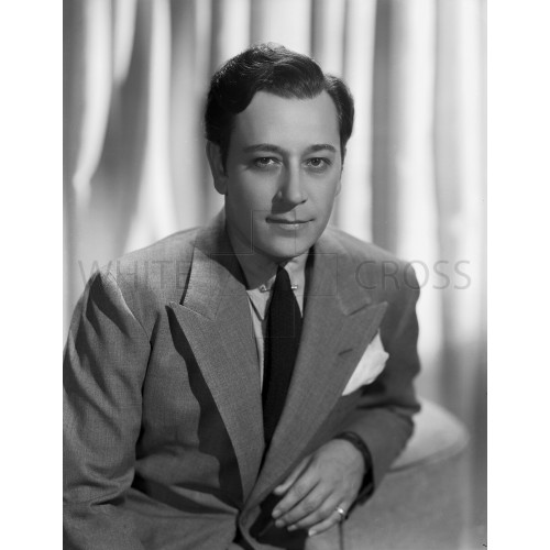 George Raft Classic Studio Portrait, an Archival Print