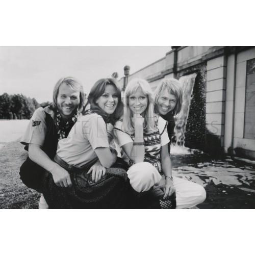 ABBA Group Portrait Portrait, an Archival Print