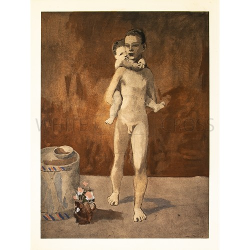 Man and Child, 1906 Pablo Picasso Lithograph