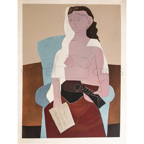 Woman Seated, 1924 Pablo Picasso Lithograph