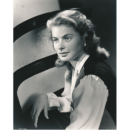 Ingrid Bergman Posing, shot by Ernest Bachrach in 1945