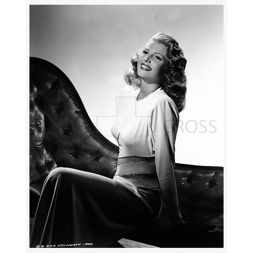 Rita Hayworth, an Original Negative shot by Robert Coburn