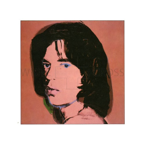 Limited edition numbered lithograph by Andy Warhol of his iconic Portrait of Mick Jagger