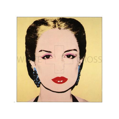 Limited Edition Lithograph by Andy Warhol of Maria Carolina Josefina Pacaninis Nino
