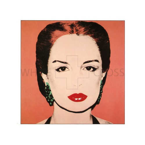 Limited Edition Lithograph by Andy warhol of Maria Carolina Josefina Pacaninis Nino #2